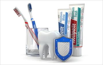 歯の質を強化するフッ素